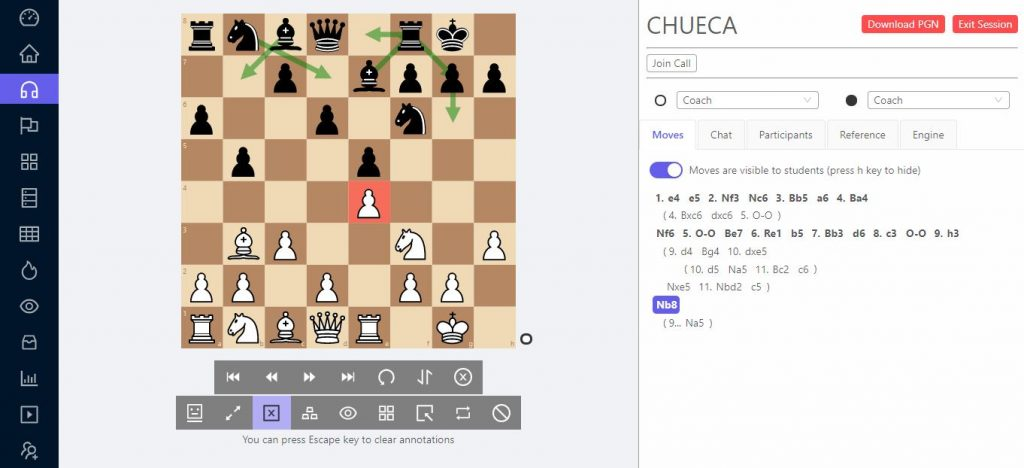 chesslang session 1